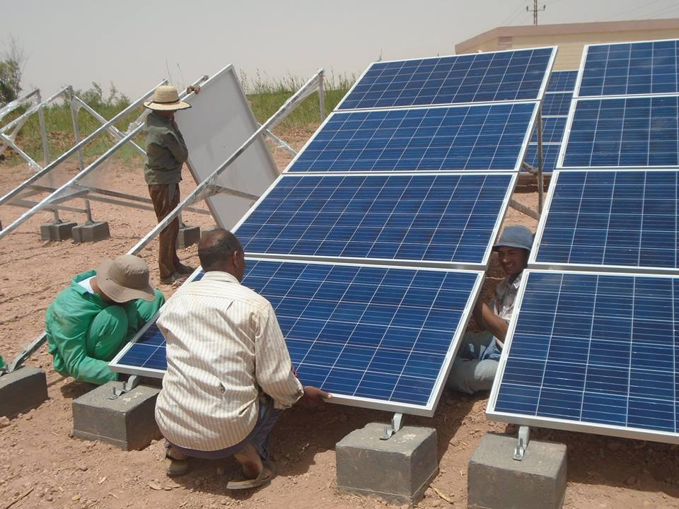 وهج الطاقة الشمسية