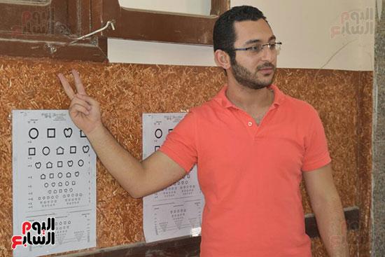 قافلة الرمد لطلاب كلية طب الإسكندرية