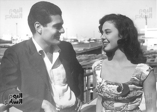 عمر الشريف الوحيد الذى قبلها فى فيلم سينمائى وكانت ترفض القبلات