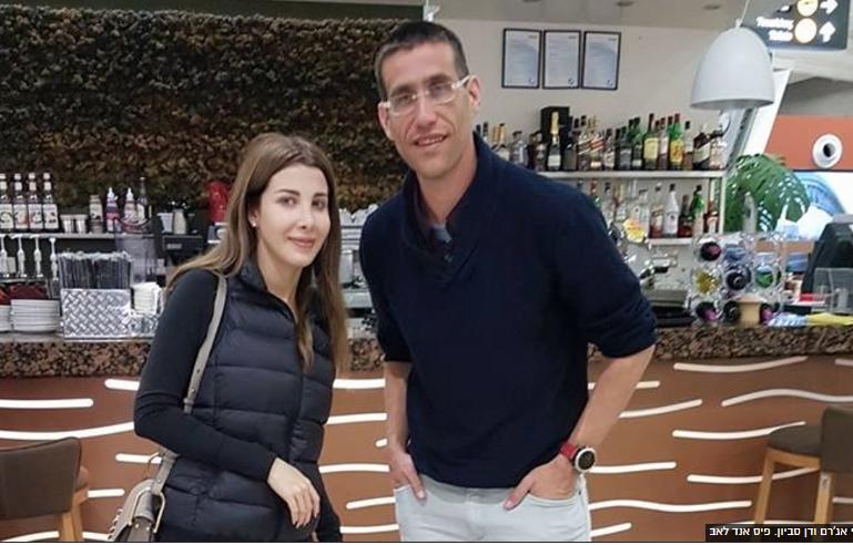 نانسى عجرم ورجل الأعمال الإسرائيلى