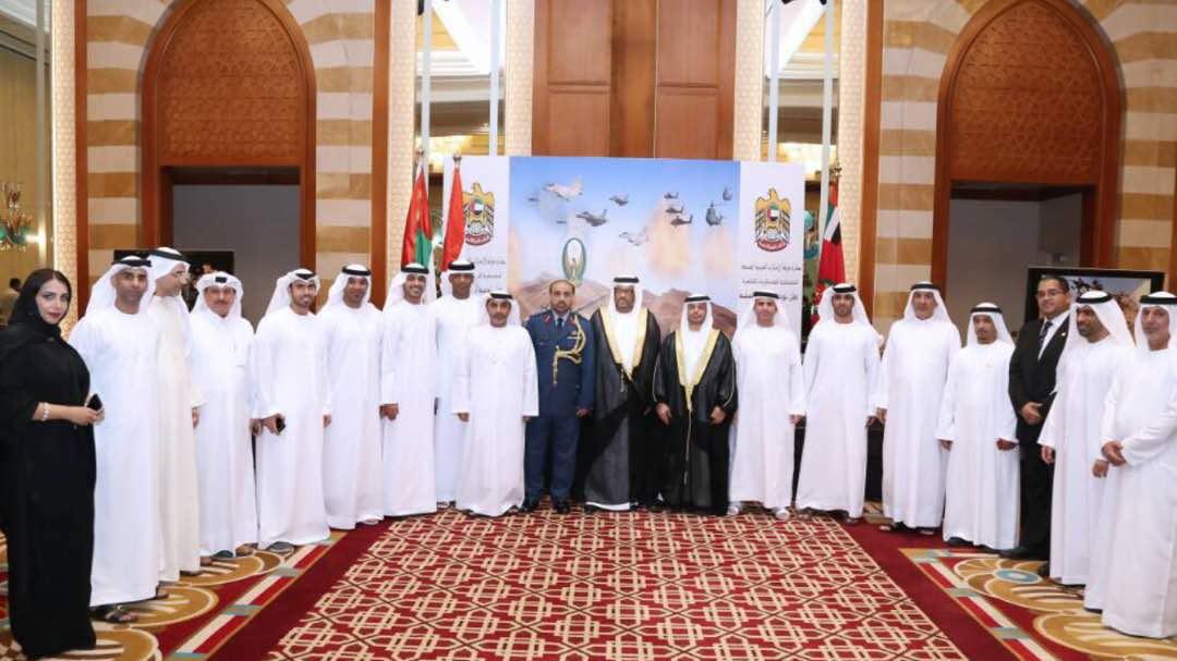 جانب من احتفال سفارة الامارات