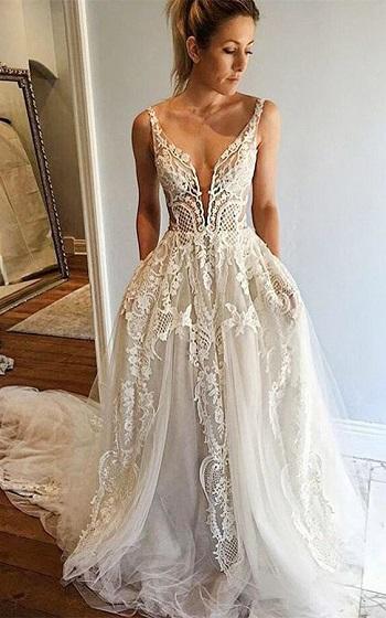 فستان بسيط