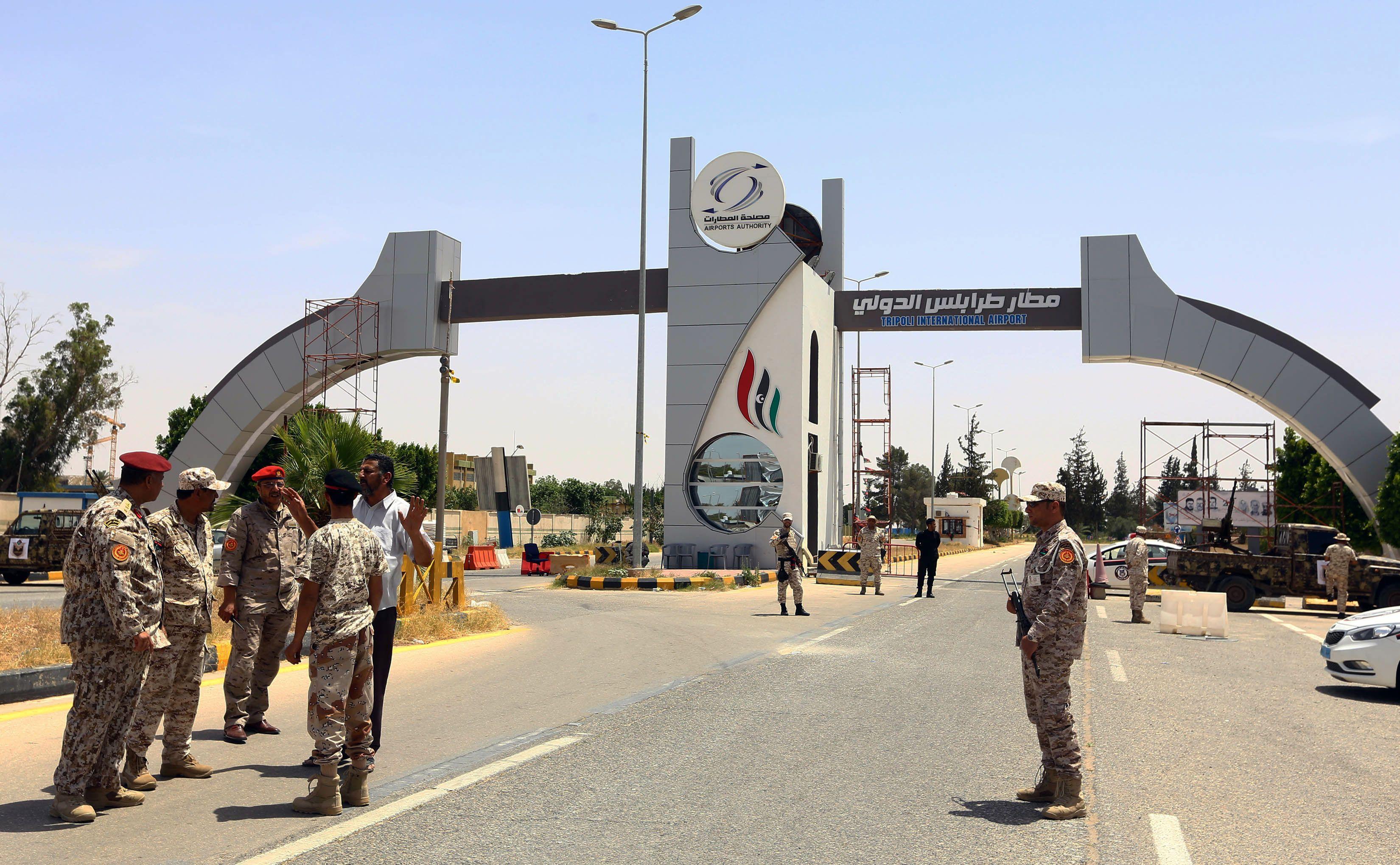 سيطرة حكومة الوفاق الليبية على مطار طرابلس
