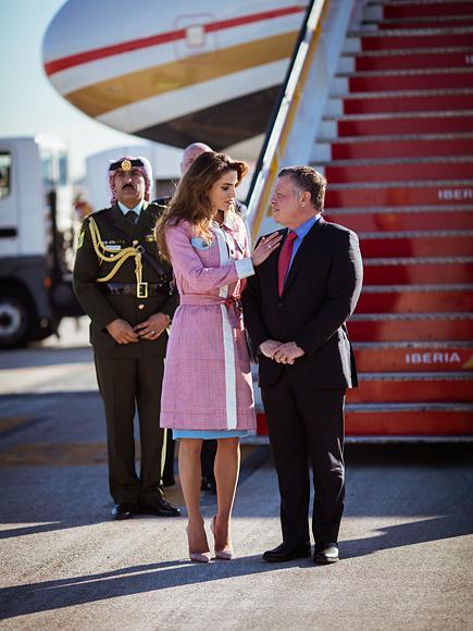 eefe8496f فى ذكرى عيد زواجهما.. 15 صورة تلخص قصة حب الملكة رانيا والملك ...