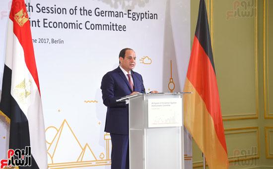 الرئيس السيسى فى المانيا (1)