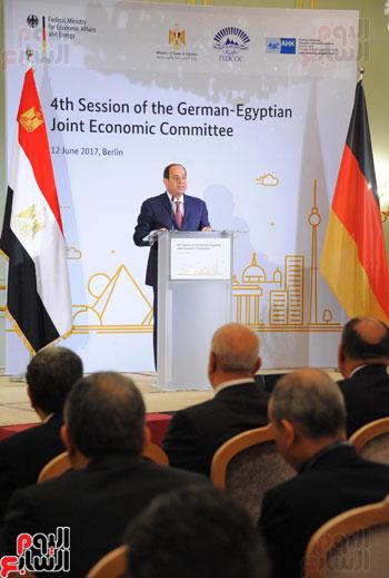 الرئيس السيسى فى المانيا (2)