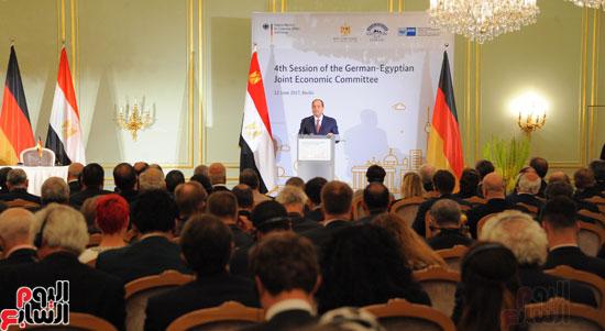 الرئيس السيسى فى المانيا (4)