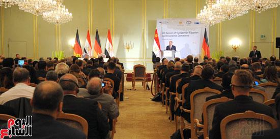 الرئيس السيسى فى المانيا (6)