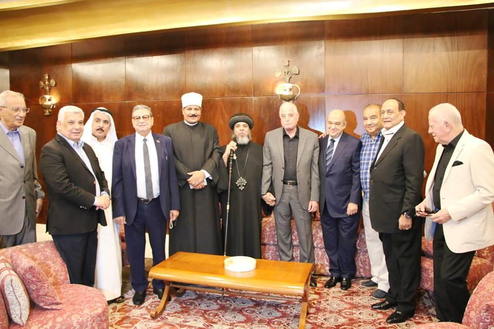 رجال الاعمال وزير السياحة ومحافظ جنوب سيناء