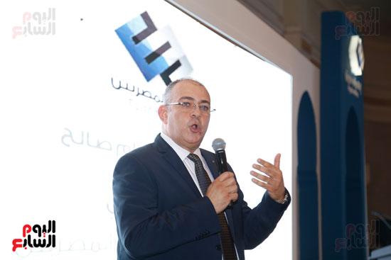المهندس حسام صالح الرئيس التنفيذى لمجموعة إعلام المصريين