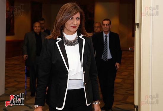 السفيرة نبيلة مكرم وزيرة الهجرة والمصريين فى الخارج