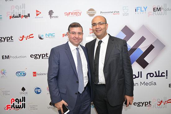 جمال صلاح وأحمد حجاج رئيس مجلس إدارة شركة سكن