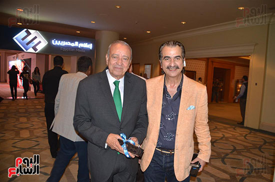 """المستشار جميل سعيد وعصام شلتوت مدير تحرير """"اليوم السابع"""""""