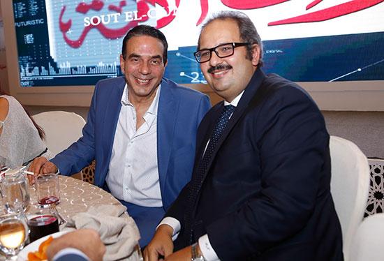 """النائب أيمن أبو العلا وهانى نجيب نائب رئيس مجلس إدارة شركة """"برومو ميديا"""""""