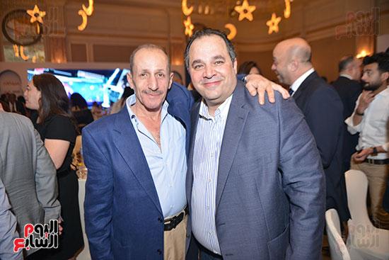 الإعلامى ياسر أيوب ومحمد كامل رئيس مجلس إدارة شركة برزينتيشن