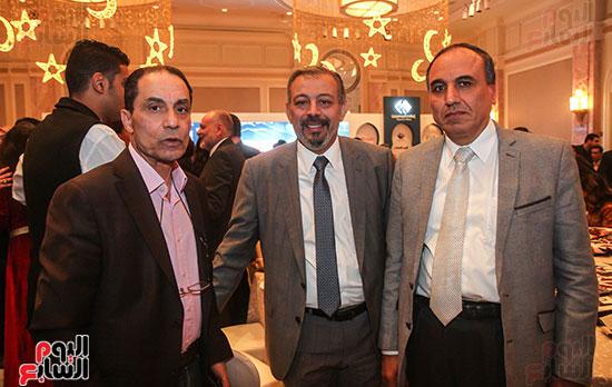 عبد المحسن سلامة نقيب الصحفيين والإعلامى عمرو الكحكى والخبير الإعلامى الدكتور سامى عبد العزيز