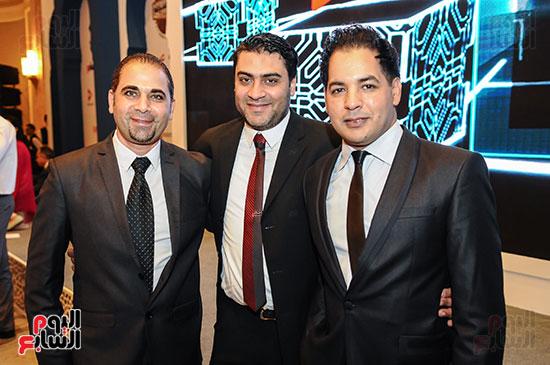 شريف المراغى وحسين فتحى وأحمد سعيد