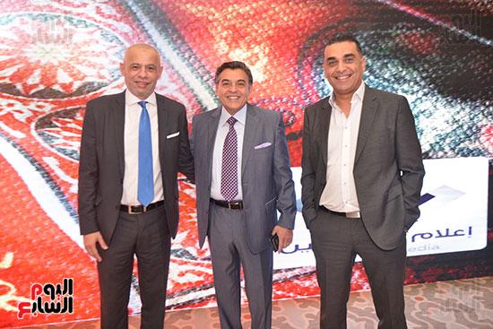 عمرو رزق رئيس قنوات on tv وعمرو فتحى المدير التنفيذى لغرفة صناعة الإعلام