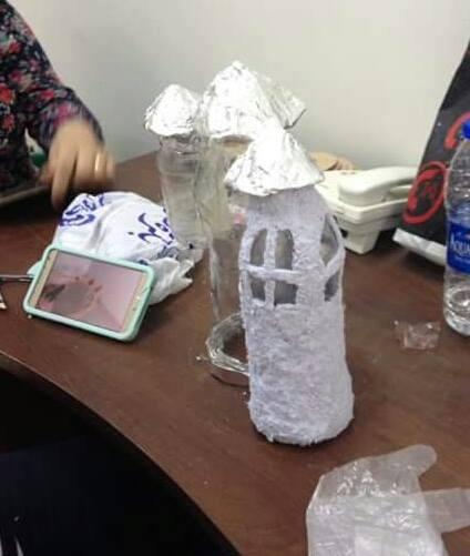 أطفال محافظة المنيا يستغلون خامات البيئة فى متحف ملوى (3)