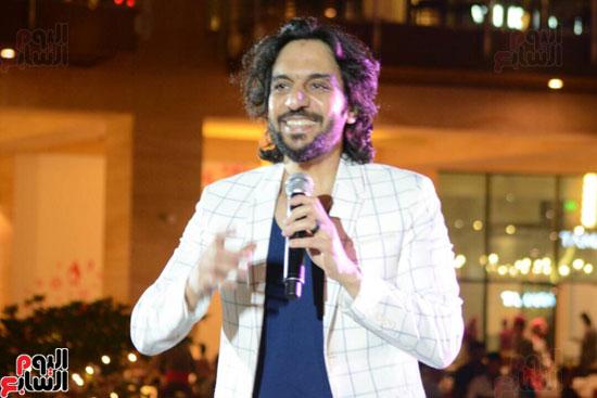 حفل بهاء سلطان بمول مصر (2)