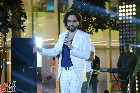 حفل بهاء سلطان بمول مصر (10)