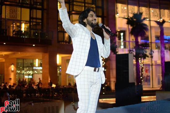 حفل بهاء سلطان بمول مصر (8)