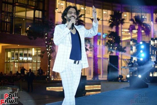 حفل بهاء سلطان بمول مصر (7)