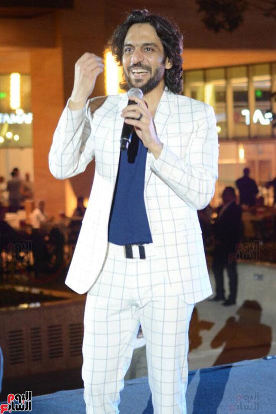 حفل بهاء سلطان بمول مصر (14)