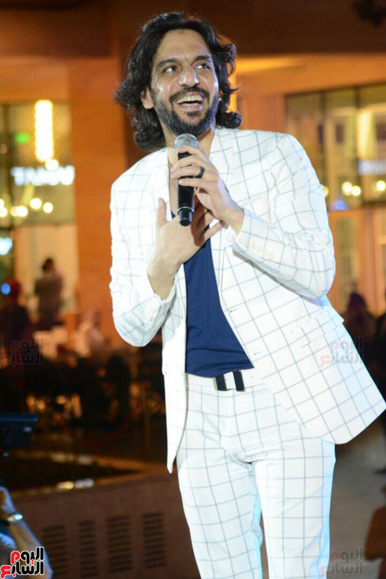 حفل بهاء سلطان بمول مصر (3)
