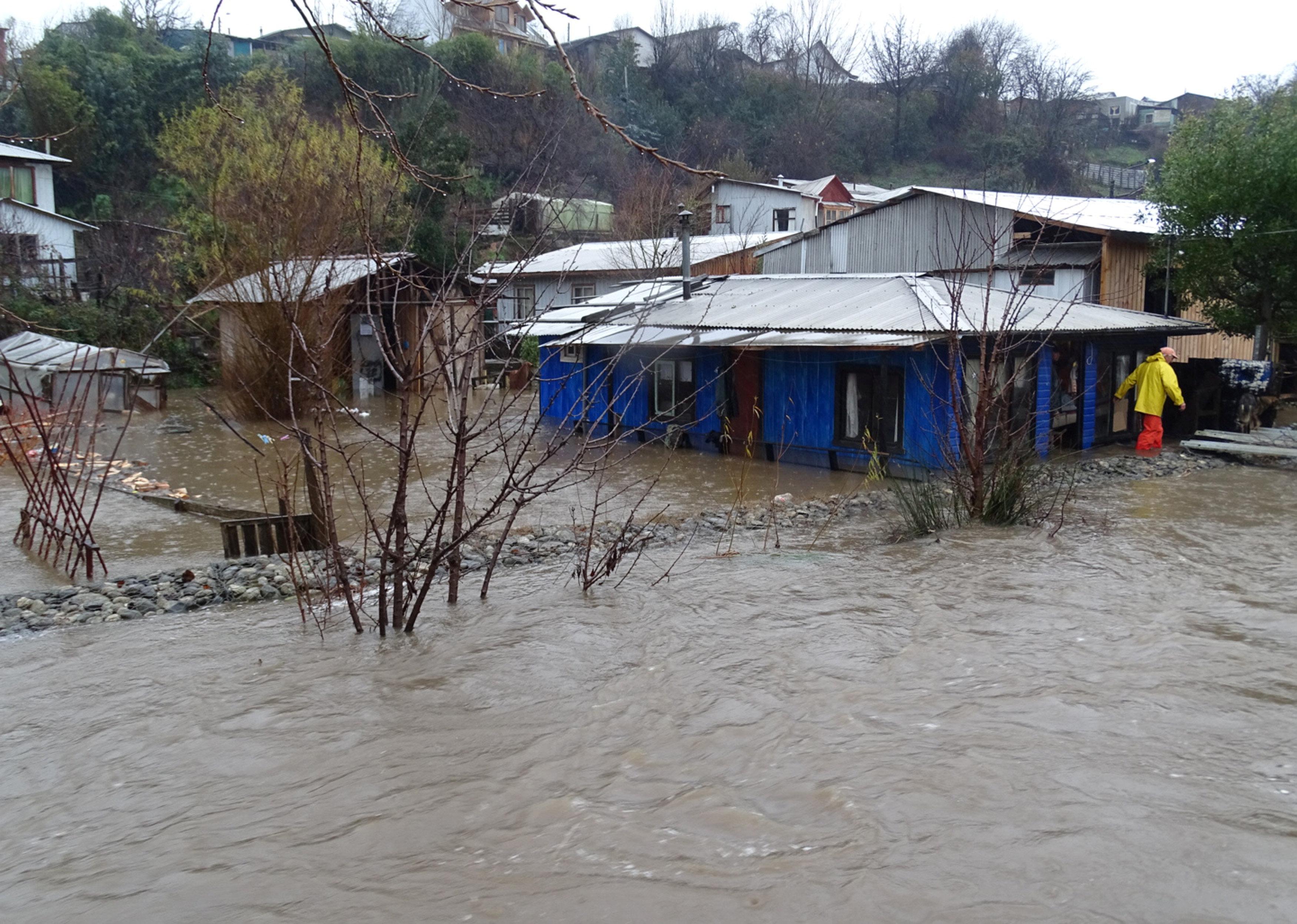 سوء حالة الطقس فى تشيلى