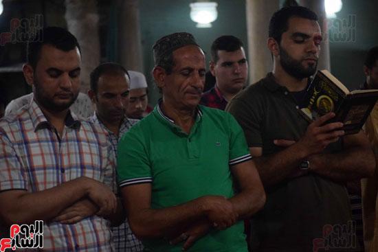 صلاة التراويح بجامع الازهر (5)
