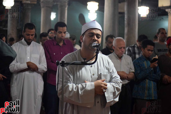 صلاة التراويح بجامع الازهر (15)