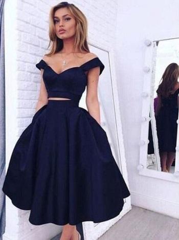 فستان كحلى