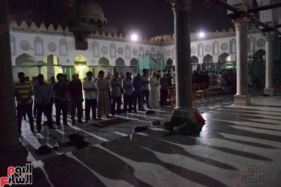 صلاة التراويح بجامع الازهر (1)
