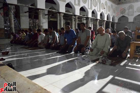 صلاة التراويح بجامع الازهر (3)