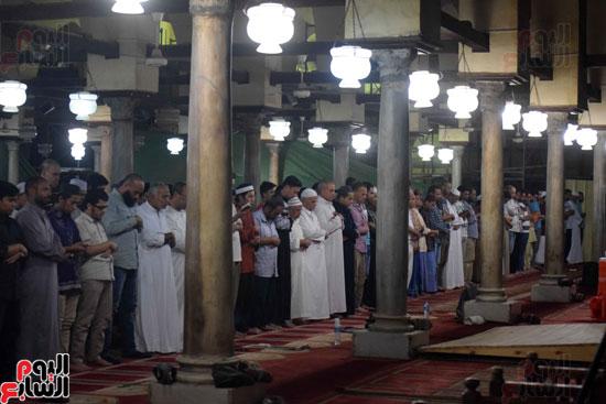 صلاة التراويح بجامع الازهر (16)
