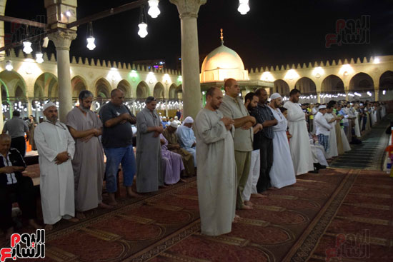 صلاة-التهجد-فى-مسجد-عمرو-بن-العاص-(7)