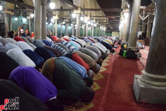 صلاة التراويح بجامع الازهر (12)