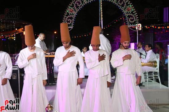 المولوية وشيما والجناينى يشعلون خيمة مولانا  (32)