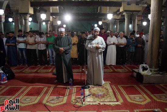 صلاة التراويح بجامع الازهر (14)