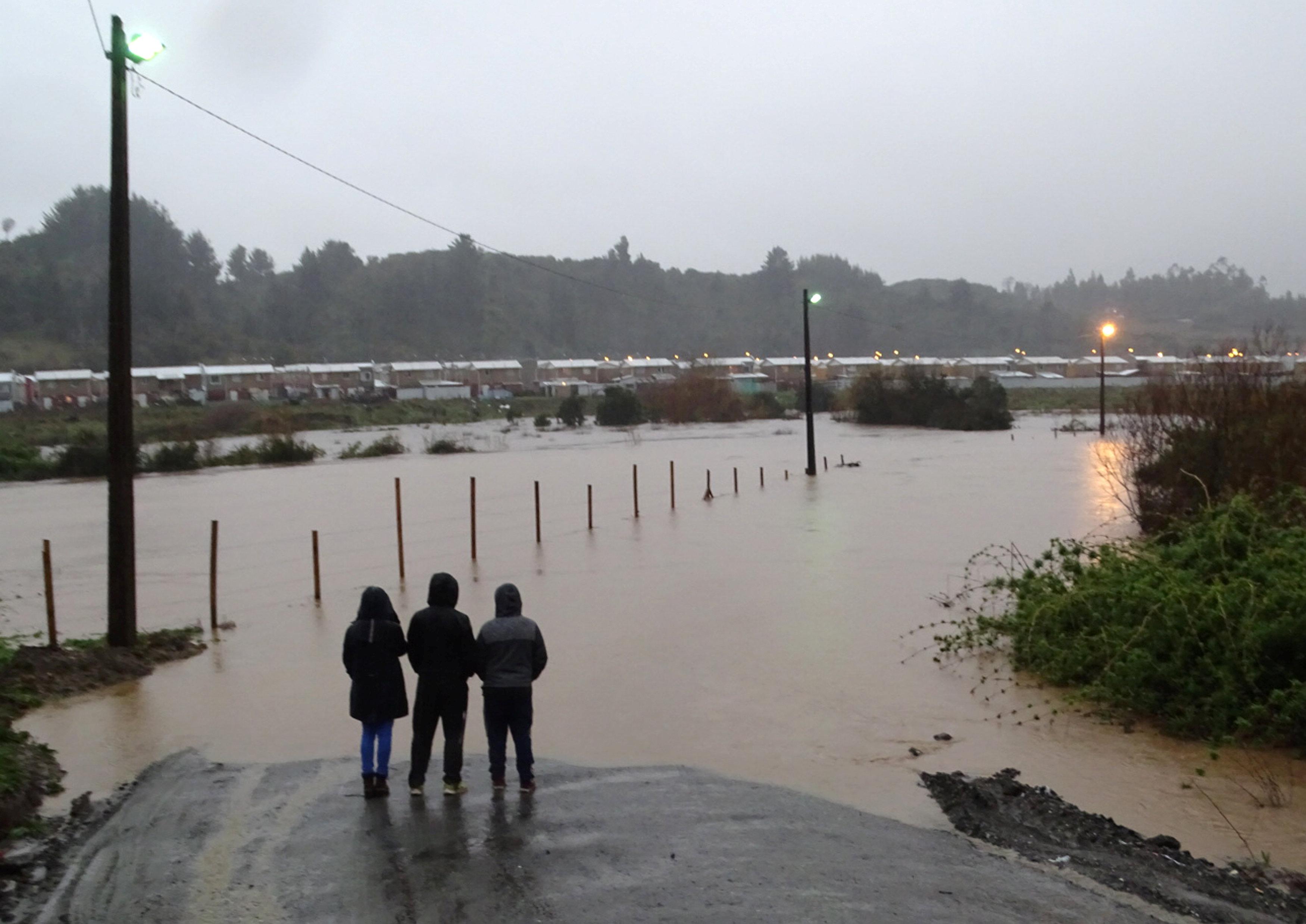 أمطار غزيرة فى تشيلى