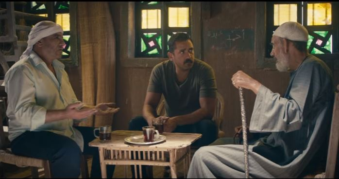 أمير كرارة ومحمد لطفى مع الشيخ صالح