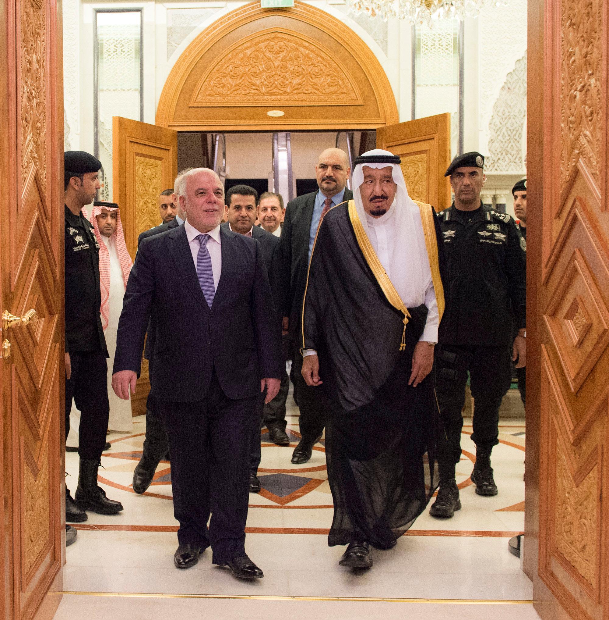 قمة عراقية سعودية فى الرياض