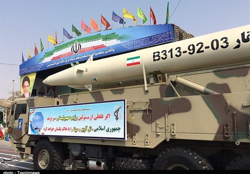 صاروخ ذو الفقار الايرانى