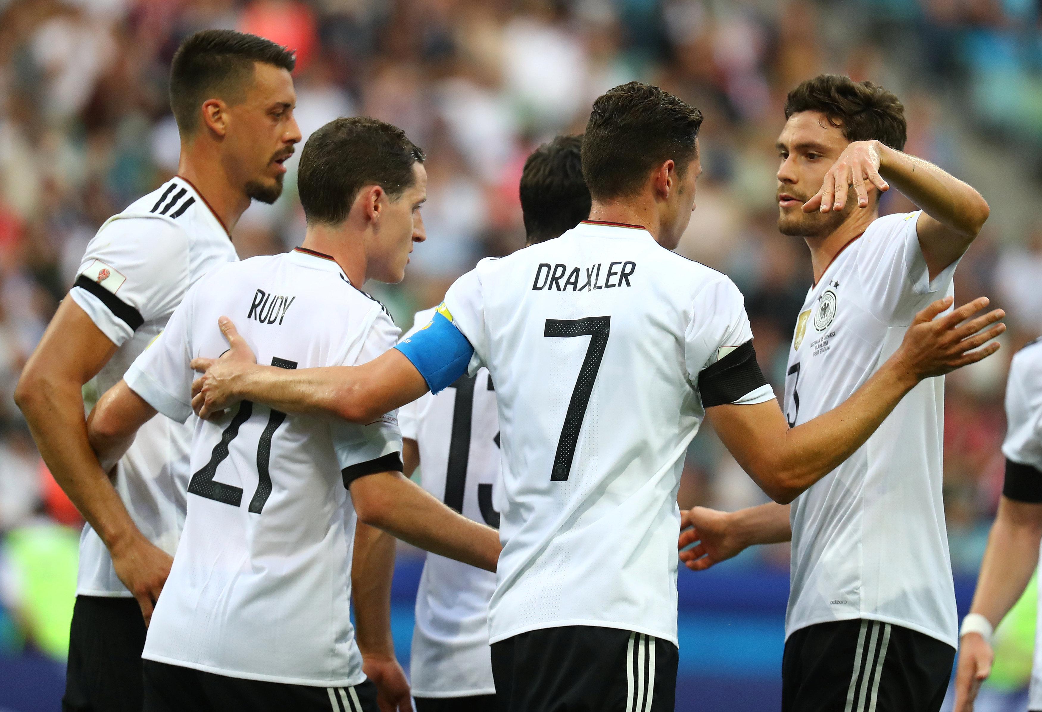 فرحة المنتخب الألمانى