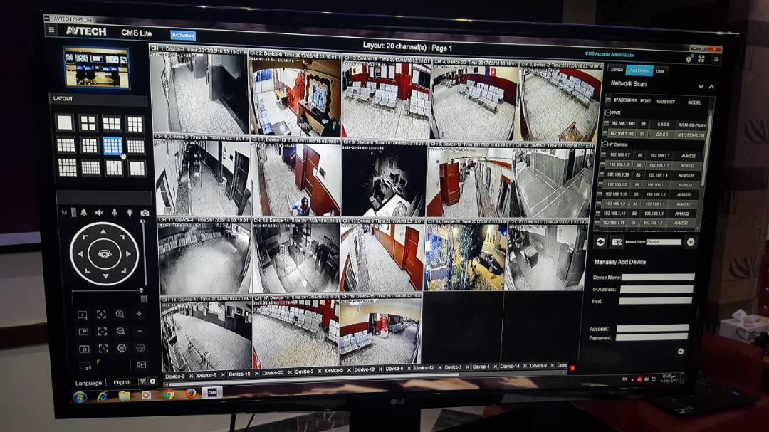 مرور قنا يعلن تركيب كاميرات مراقبة بمكاتب التراخيص (3)