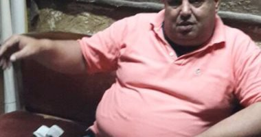 محمود رجب أحد المدعوين على مائدة إفطار السيسى
