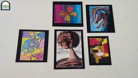 مكتبة المستقبل تستضيف 23 لوحة فنية  (1)