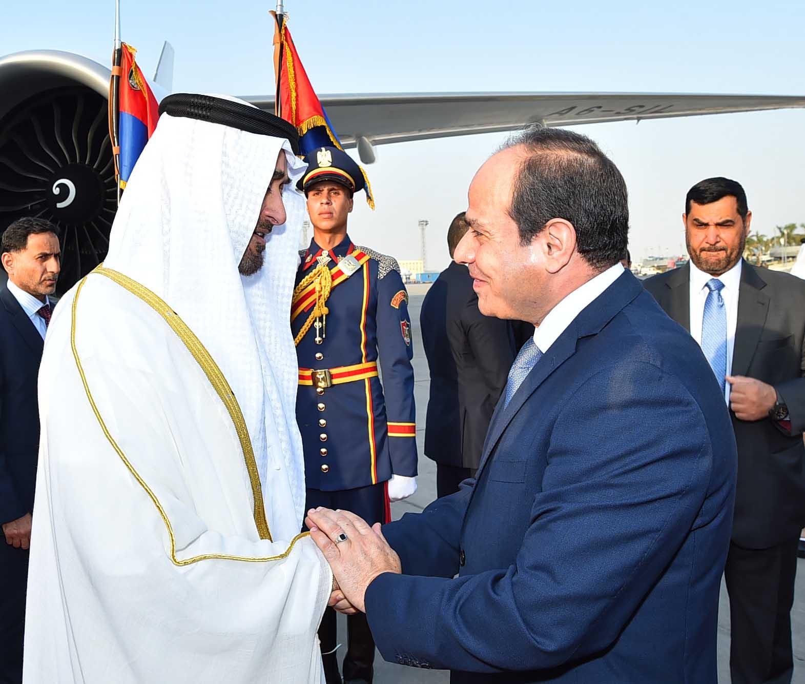 السيسى ومحمد بن زايد (2)