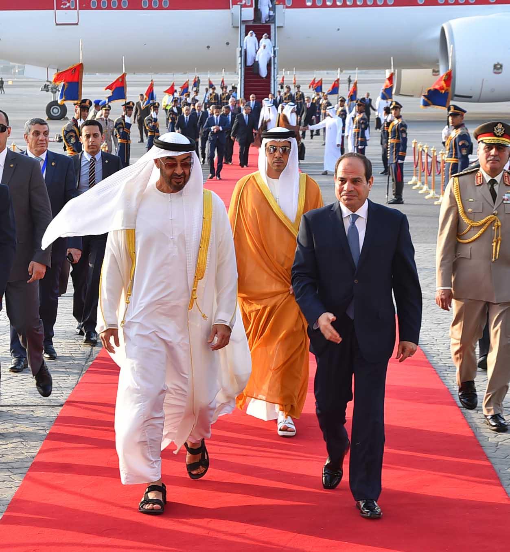 السيسى ومحمد بن زايد (6)